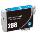 Remanufactured Epson T288220 Cyan Ink Cartridge