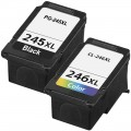 Replacement Canon PG-245XL / CL-246XL (2-pack) Ink Cartridges