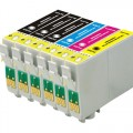 Replacement Epson 69 T069 (6-pack) Ink Cartridges