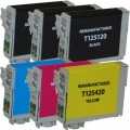 Replacement Epson 125 T125 (6-pack) Ink Cartridges