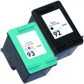 Replacement HP 92 / HP 93 (2-pack) Ink Cartridges