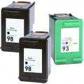 Replacement HP 98 / HP 93 (3-pack) Ink Cartridges