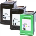 Replacement HP 94 / HP 95 (3-pack) Ink Cartridges