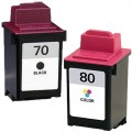 Replacement Lexmark 70 / 80 (2-pack) Ink Cartridges