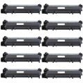 Compatible Brother TN660 (10-pack) HY Black Toner Cartridges