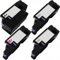 Compatible Dell 1250c (4-pack) HY Toner Cartridges