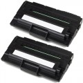 Compatible Dell 1600 (2-pack) Black Toner Cartridges