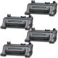 Replacement HP 64A / CC364A (4-pack) Black Toner Cartridges