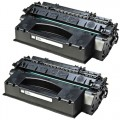Replacement HP 53X / Q7553X (2-pack) HY Black Toner Cartridges