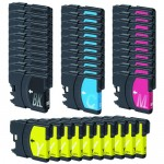 Brother LC61 Compatible (40-pack) Ink Cartridges (10x Black, 10x Cyan, 10x Magenta, 10x Yellow)
