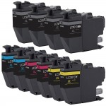 Brother LC3013 Compatible (10-pack) High Yield Ink Cartridges (4x Black, 2x Cyan, 2x Magenta, 2x Yellow)