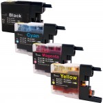 Brother LC79 Compatible (4-pack) Super High Yield Ink Cartridges (1x Black, 1x Cyan, 1x Magenta, 1x Yellow)