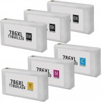 Epson 786XL T786XL Series (6-pack) Replacement High Yield Ink Cartridge (3x Black, 1x Cyan, 1x Magenta, 1x Yellow)