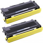 Brother TN350 (2-pack) Compatible Black Laser Toner Cartridges