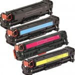 HP 304A / CC530-3A Series (4-pack) Replacement Laser Toner Cartridges (1x Black, 1x Cyan, 1x Magenta, 1x Yellow)