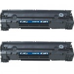 HP 78A / CE278A (2-pack) Replacement Black Laser Toner Cartridges