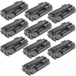 HP 80A / CF280A (10-pack) Replacement Black Laser Toner Cartridges