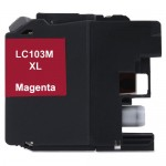 Brother LC103M Compatible High Yield Magenta Ink Cartridge (LC103 Series)