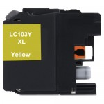 Brother LC103Y Compatible High Yield Yellow Ink Cartridge (LC103 Series)