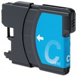 Brother LC65C Compatible High Yield Cyan Ink Cartridge (LC65 Series)