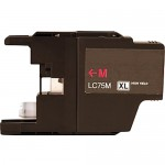 Brother LC75M Compatible High Yield Magenta Ink Cartridge (LC75 Series)