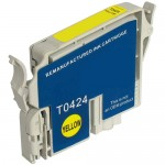 Remanufactured Epson 42 T042420 Yellow Ink Cartridge - T0424