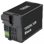 Replacement Epson 252XL (T252XL120) High Yield Black Ink Cartridge - T252XL1