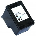HP 92 / C9362WN Replacement Black Ink Cartridge