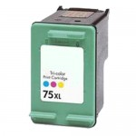 HP 75XL / CB338WN Replacement High Yield Tri Color Ink Cartridge