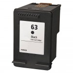 Replacement HP 63 Ink Cartridge - Black - F6U62AN