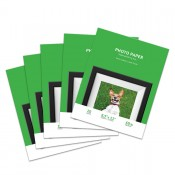 Premium Lustre 8.5 x 11 Inkjet Photo Paper, Resin Coated - 100 Sheet Pack