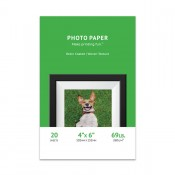 Premium Woven Textured Inkjet Photo Paper (4X6) 20 sheets - Resin Coated