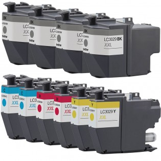 Brother LC3029 ink cartridges combo pack 10
