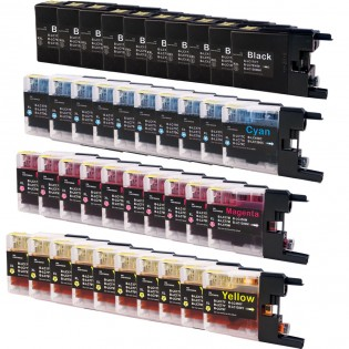 Brother LC79 Black & Color 40-pack Super High Yield Ink Cartridges