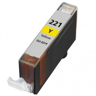 Canon CLI-221Y Inkjet Cartridge Yellow