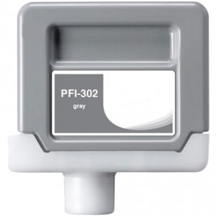 Canon PFI-302GY Gray Ink Cartridge