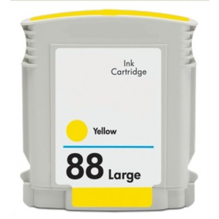 HP 88XL C9393AN High Yield Yellow Ink Cartridge