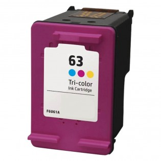 HP 63 Ink Cartridge - Color