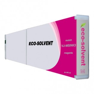 Mutoh VJMSINK3M Eco-Ultra Magenta Ink Cartridge